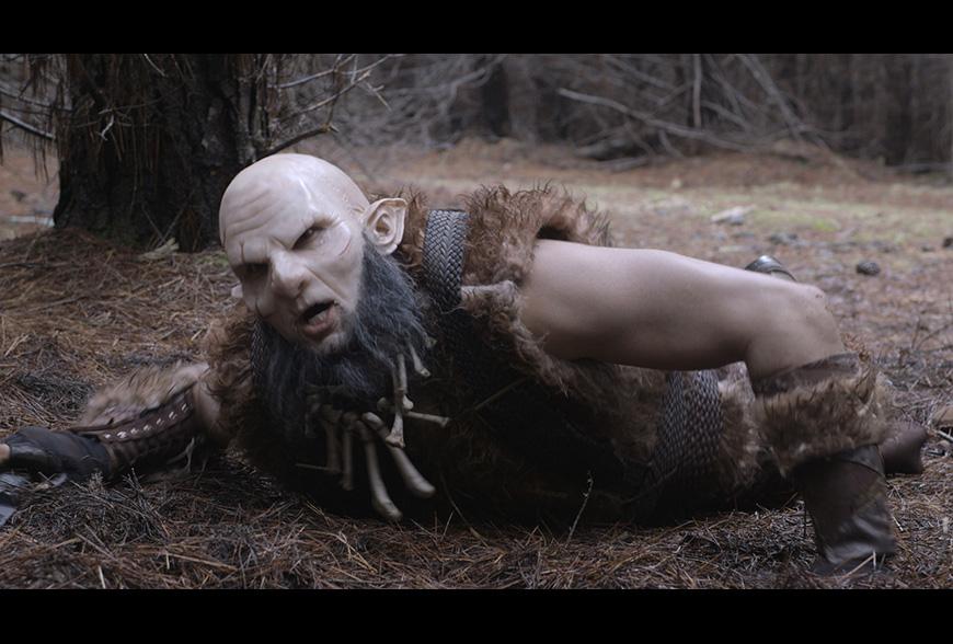 Orc makeup